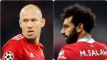 Football Comparisons 10 - Robben v Salah
